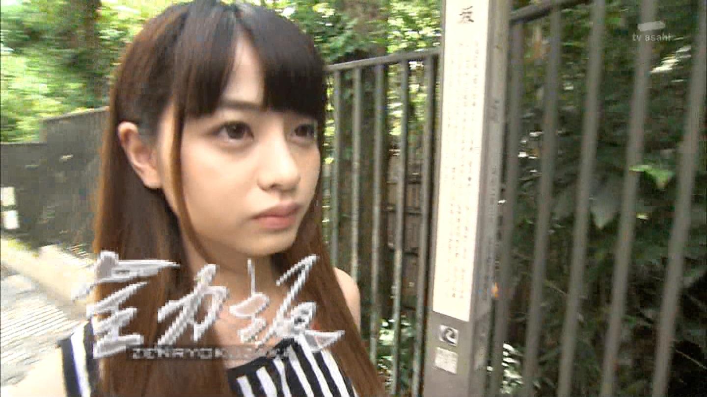 桑澤菜月_全力坂_ホットパンツ_テレビキャプ画像_02