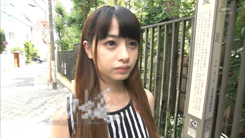桑澤菜月_全力坂_ホットパンツ_テレビキャプ画像_0