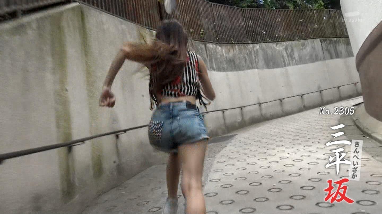 桑澤菜月_全力坂_ホットパンツ_テレビキャプ画像_08