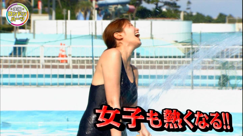 ロンハー水泳_グラドル_水着_テレビキャプ画像_01