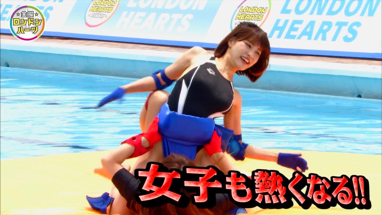 ロンハー水泳_グラドル_水着_テレビキャプ画像_02