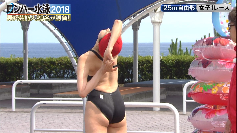 ロンハー水泳_グラドル_水着_テレビキャプ画像_12