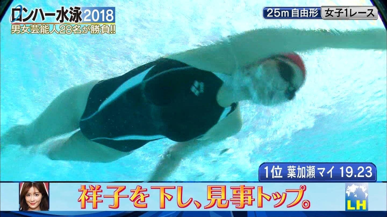 ロンハー水泳_グラドル_水着_テレビキャプ画像_15