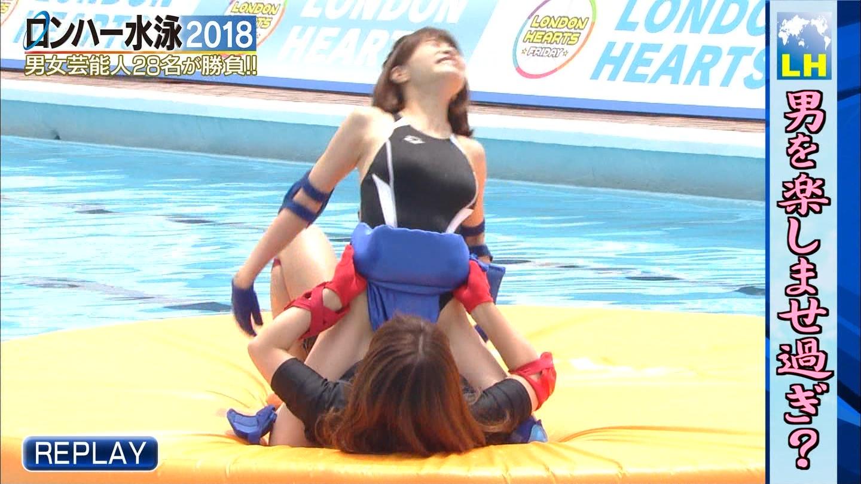 ロンハー水泳_グラドル_水着_テレビキャプ画像_31