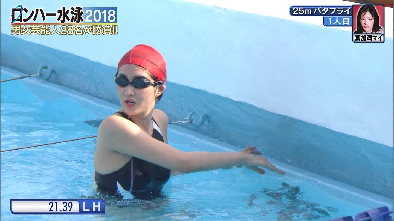 ロンハー水泳_グラドル_水着_テレビキャプ画像_33