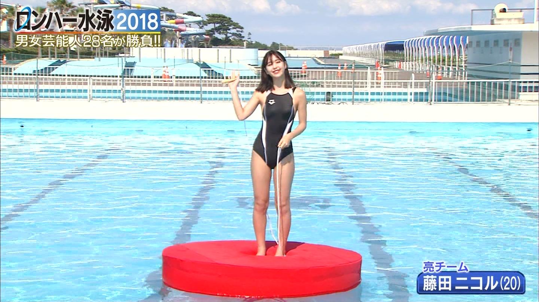 ロンハー水泳_グラドル_水着_テレビキャプ画像_37