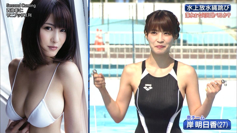ロンハー水泳_グラドル_水着_テレビキャプ画像_48
