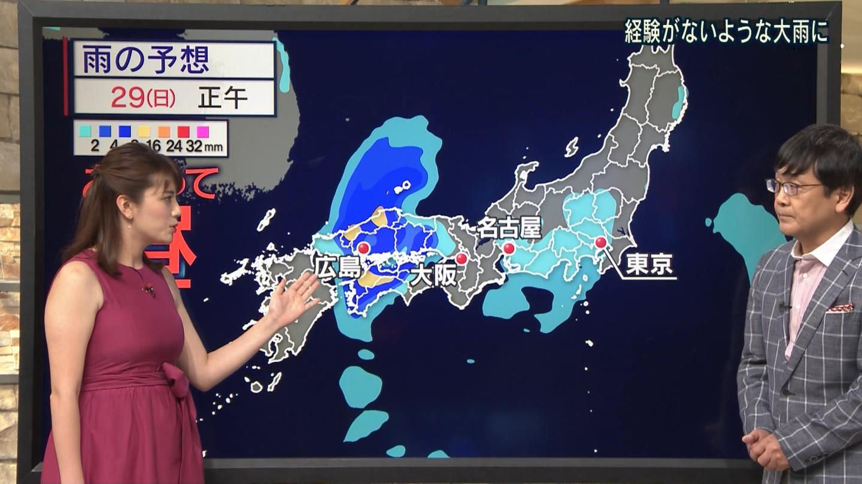 三谷紬_女子アナ_着衣巨乳_テレビキャプ画像_15