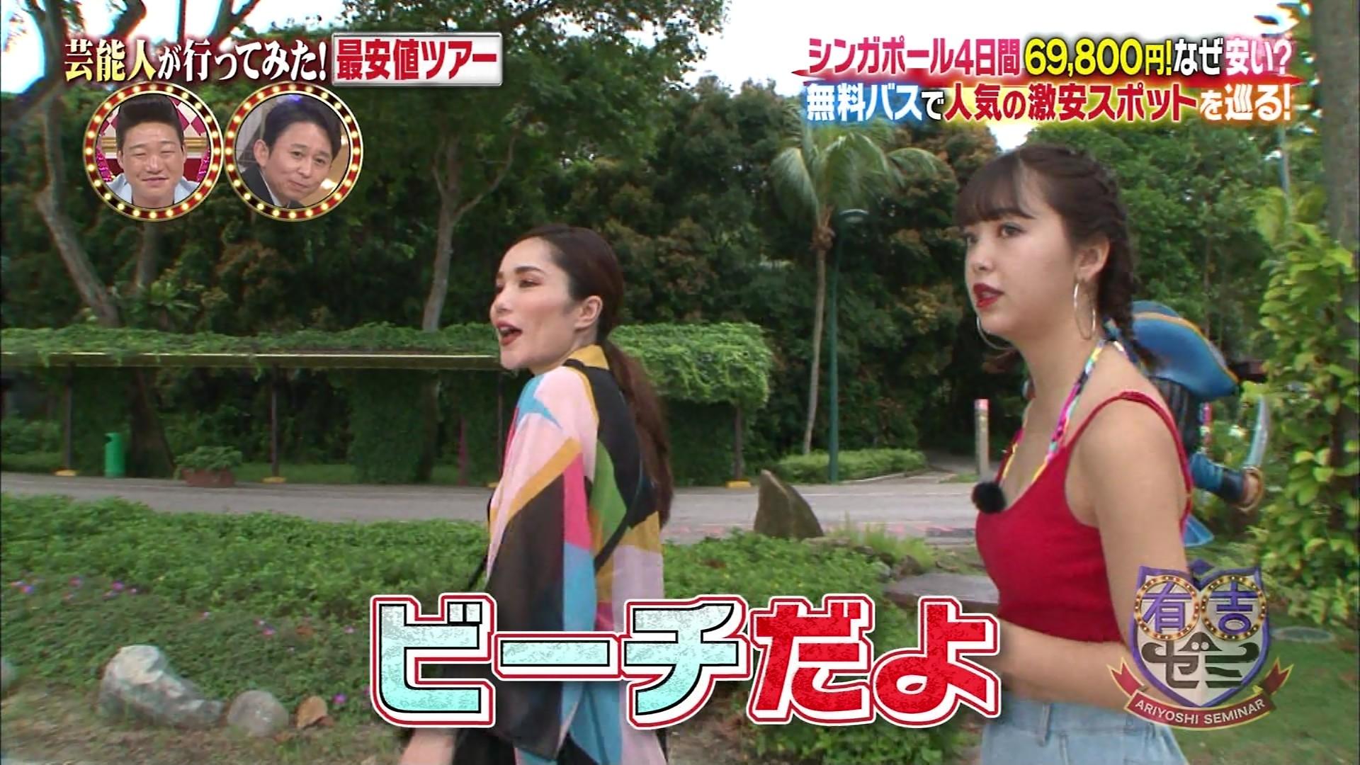 藤田ニコル_モデル_ビキニ水着_テレビキャプ画像_07
