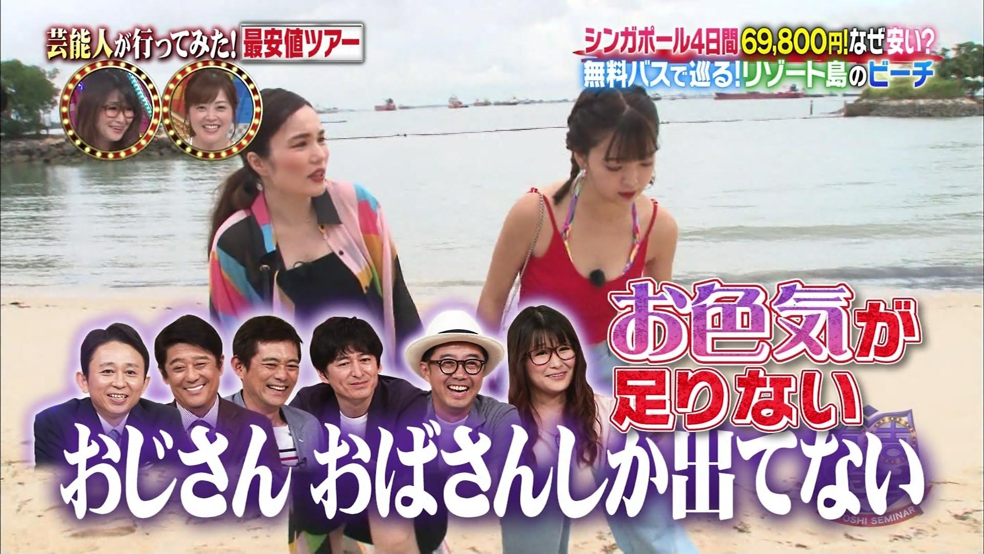 藤田ニコル_モデル_ビキニ水着_テレビキャプ画像_08