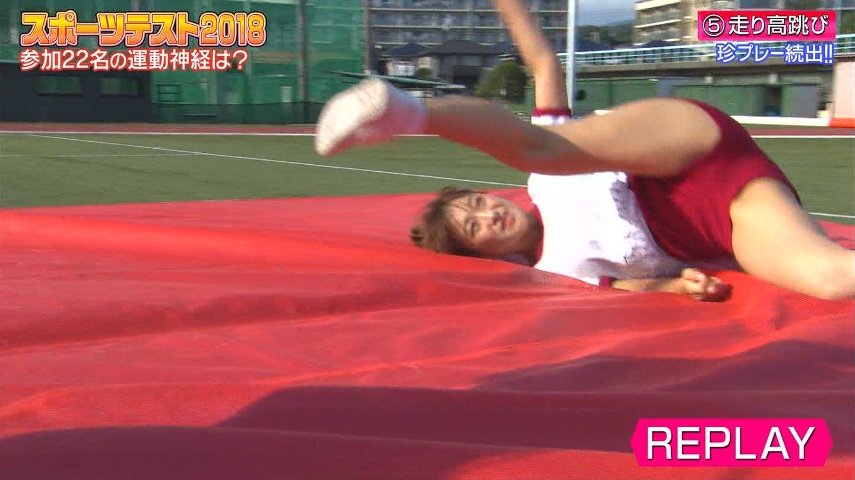 ロンドンハーツ_スポーツテスト2018_女性芸能人_テレビキャプ画像_63