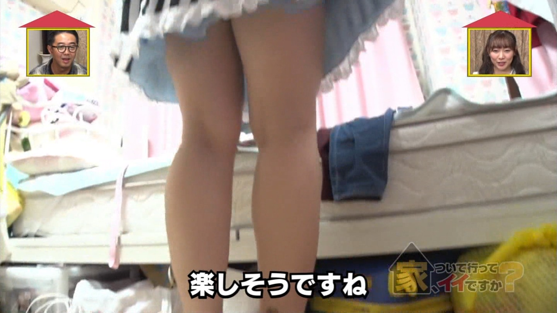 美女_タトゥー_メイド_巨乳谷間_テレビキャプ画像_32