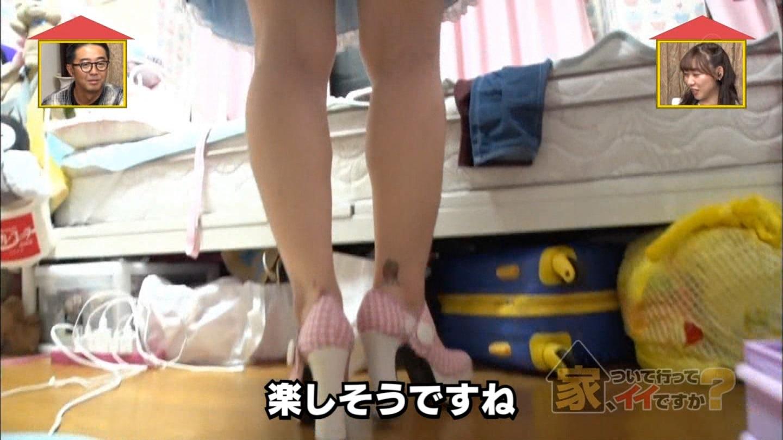 美女_タトゥー_メイド_巨乳谷間_テレビキャプ画像_36