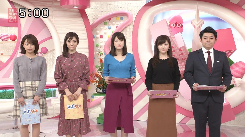 郡司恭子_女子アナ_着衣オッパイ_テレビキャプ画像_19