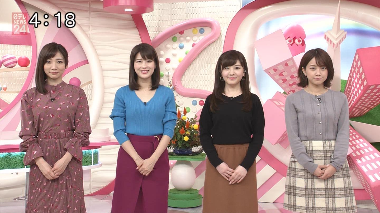 郡司恭子_女子アナ_着衣オッパイ_テレビキャプ画像_20