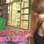 【画像あり】『世界の村で発見!こんなところに日本人』夏菜(29)がノースリーブで着衣巨乳を強調してた件!