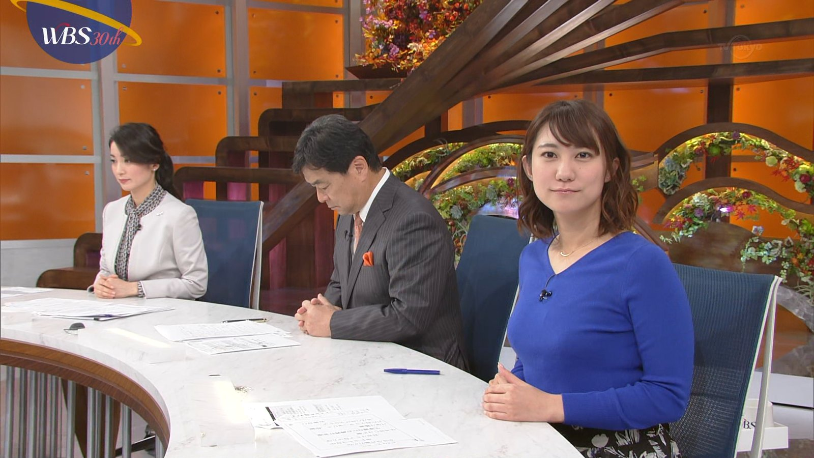 北村まあさ_女子アナ_着衣巨乳_テレビキャプ画像_02