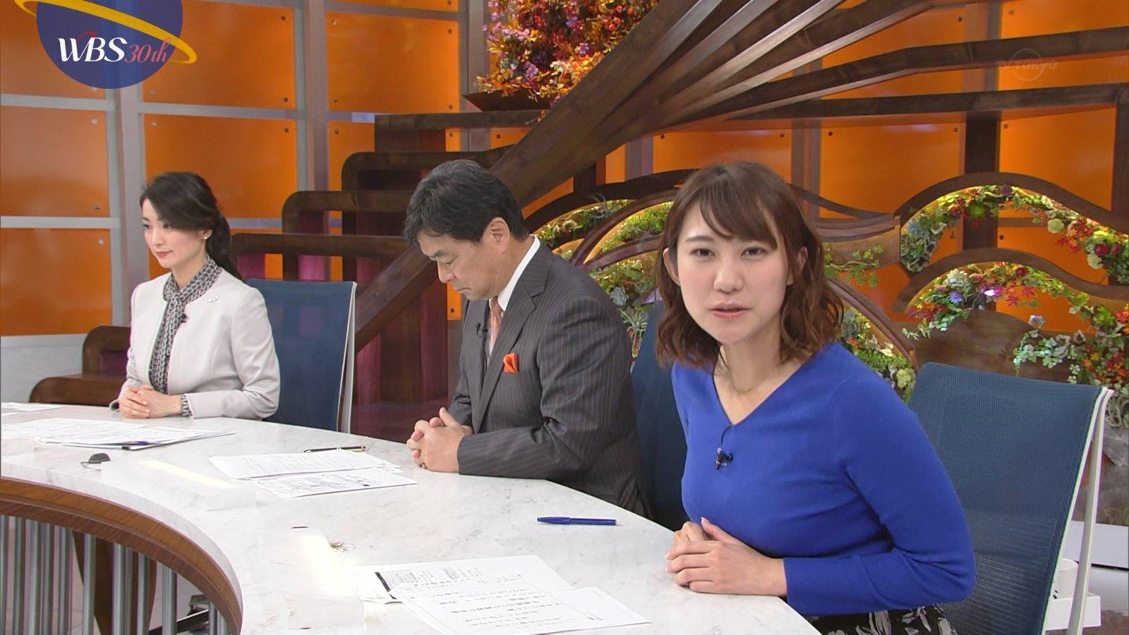 北村まあさ_女子アナ_着衣巨乳_テレビキャプ画像_03
