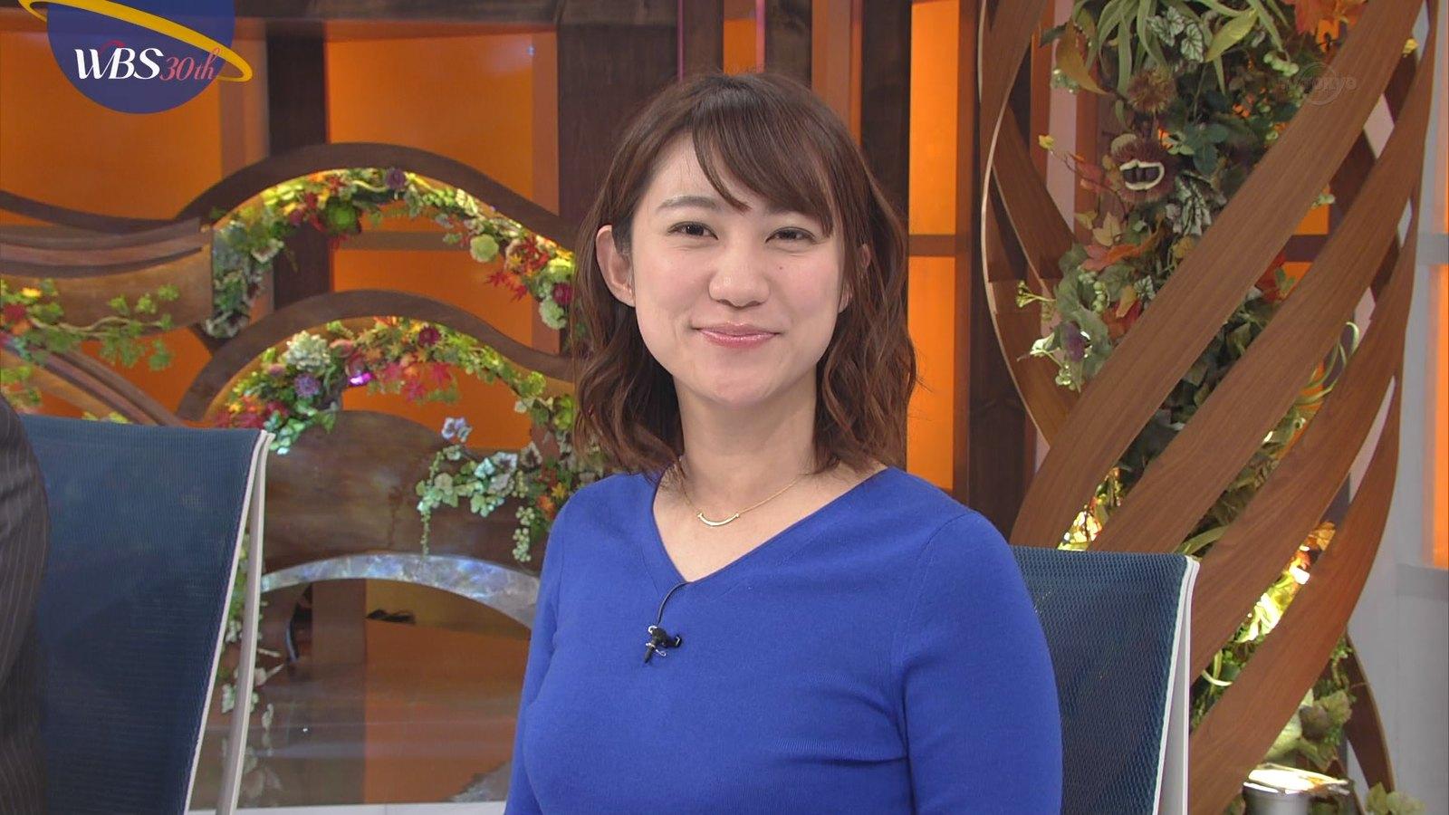 北村まあさ_女子アナ_着衣巨乳_テレビキャプ画像_05