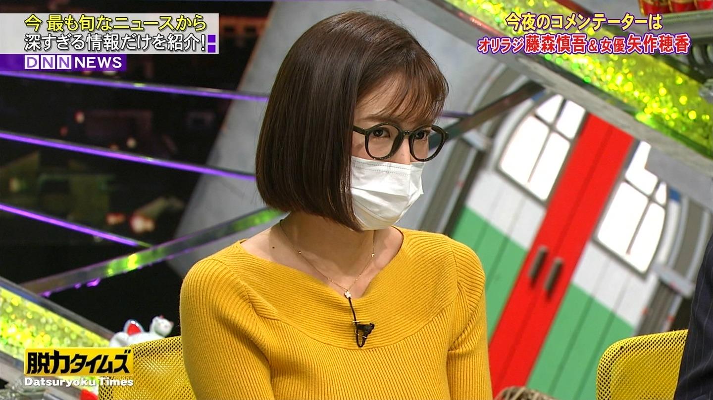 小澤陽子_女子アナ_着衣巨乳_ニット_エロ画像_09