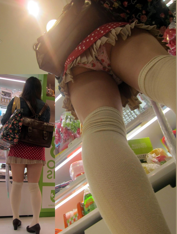 女の子のイチゴ柄の下着が可愛い過ぎる!