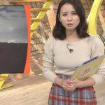 【女子アナキャプエロ画像】『サンデーステーション』美人の森川夕貴アナのおっぱい強調がぐうシコwww