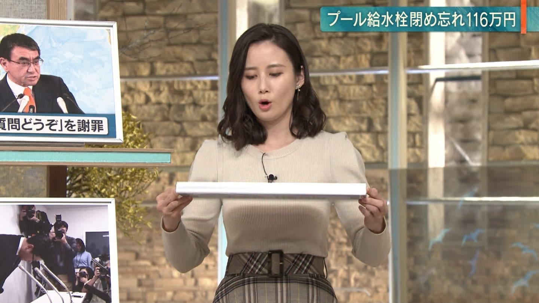 森川夕貴_女子アナ_ニット巨乳_報道ステーション_08