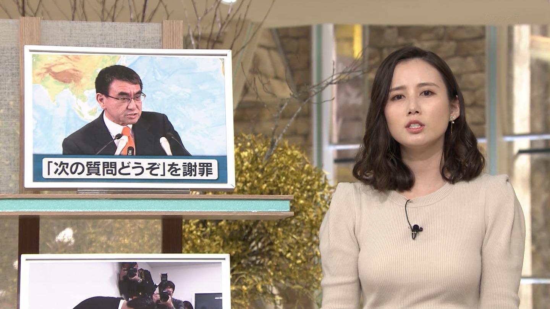 森川夕貴_女子アナ_ニット巨乳_報道ステーション_13