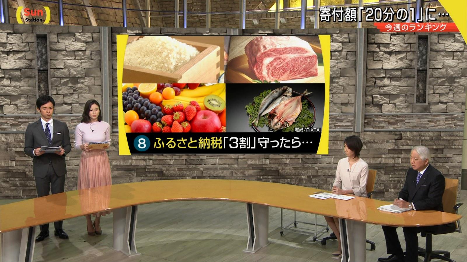 森川夕貴_女子アナ_着衣巨乳_サンデーステーション_08