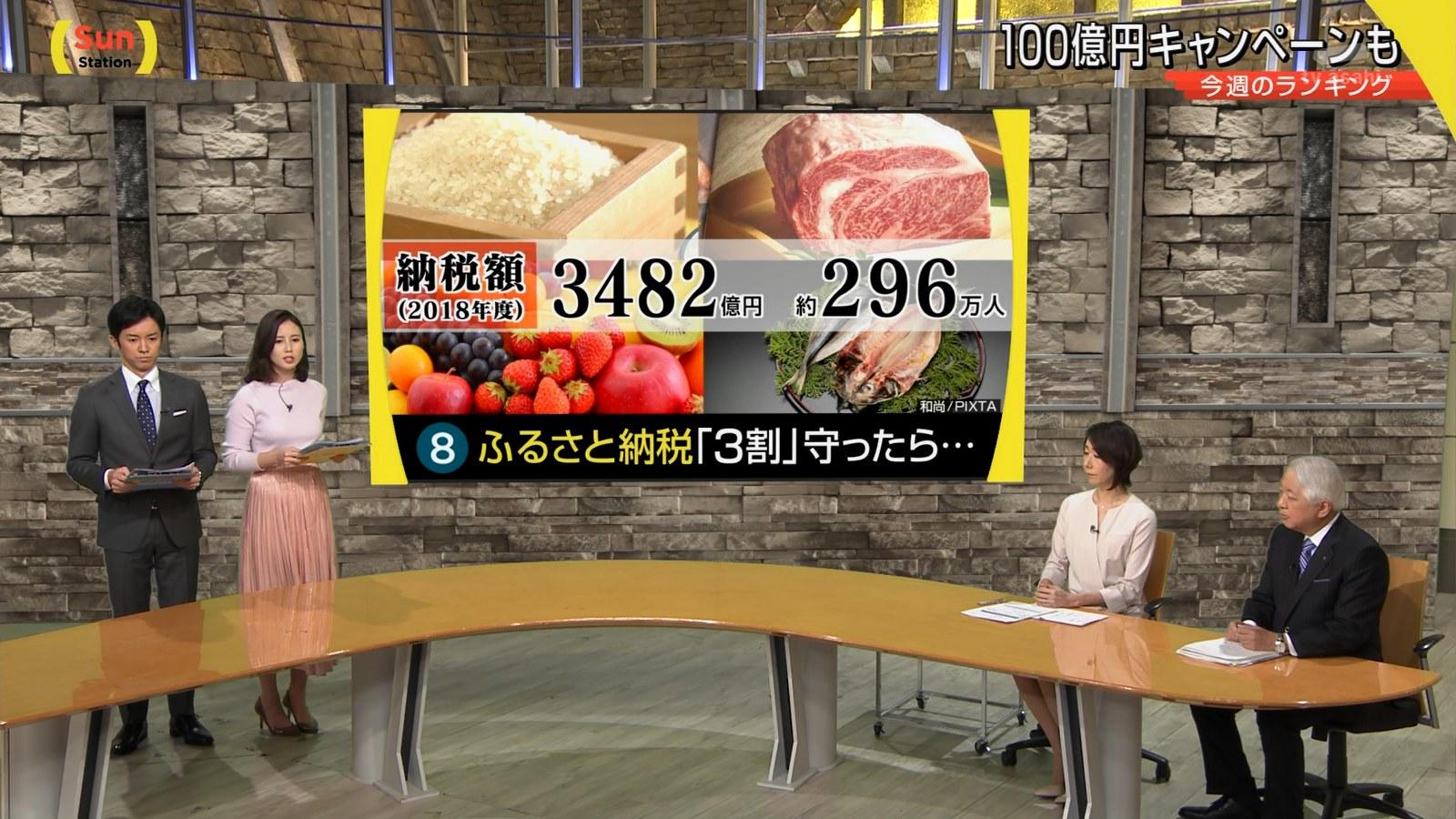 森川夕貴_女子アナ_着衣巨乳_サンデーステーション_09