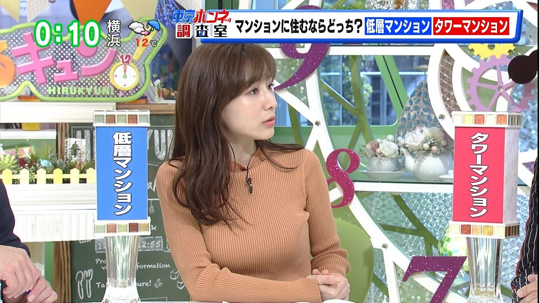 田中みな実_女子アナ_ニット_着衣巨乳_09