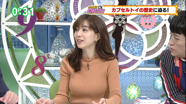 田中みな実_女子アナ_ニット_着衣巨乳_14