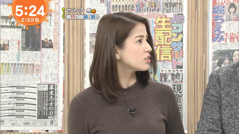 永島優美_女子アナ_ニットおっぱい_めざましテレビ_19
