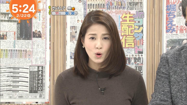 永島優美_女子アナ_ニットおっぱい_めざましテレビ_20