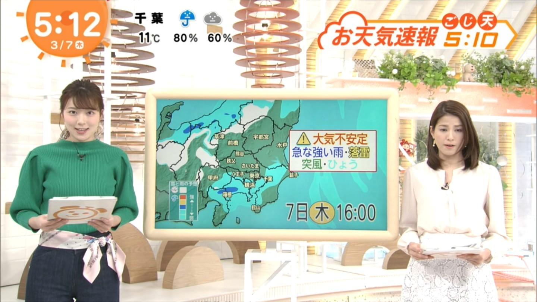 阿部華也子_キャスター_着衣巨乳_めざましテレビ_19