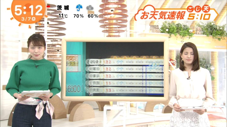 阿部華也子_キャスター_着衣巨乳_めざましテレビ_21
