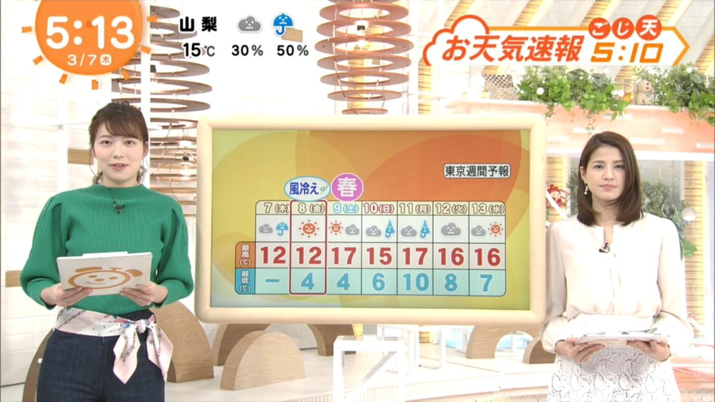 阿部華也子_キャスター_着衣巨乳_めざましテレビ_23
