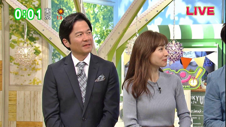 田中みな実_女子アナ_ニット巨乳_ひるキュン_04