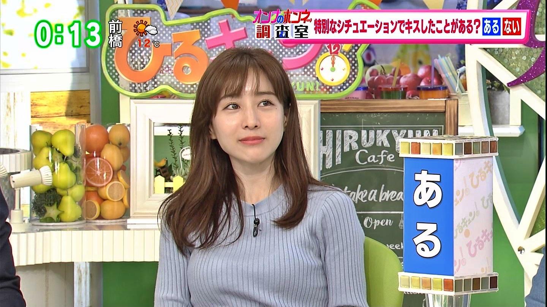 田中みな実_女子アナ_ニット巨乳_ひるキュン_19