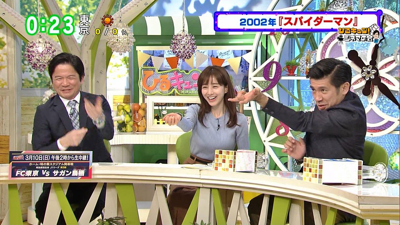 田中みな実_女子アナ_ニット巨乳_ひるキュン_24