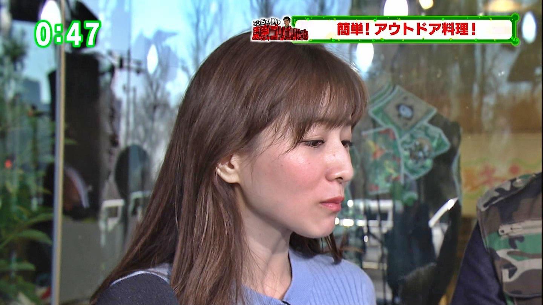 田中みな実_女子アナ_ニット巨乳_ひるキュン_41
