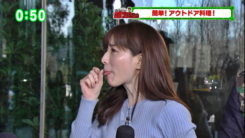 田中みな実_女子アナ_ニット巨乳_ひるキュン_44