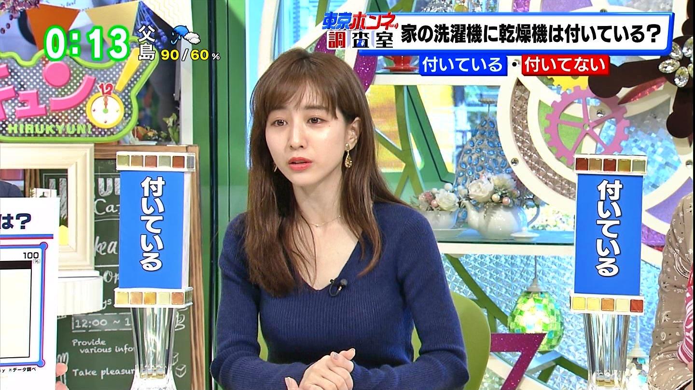 田中みな実_ニットおっぱい_巨乳_ひるキュン_12