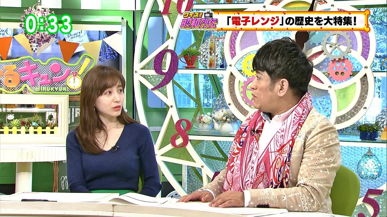 田中みな実_ニットおっぱい_巨乳_ひるキュン_19