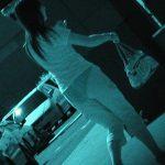 【赤外線盗撮エロ画像】街中で素人女性の透け透けのブラジャーとパンティーをガッツリ撮影!