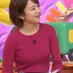 【画像あり】『ヒルナンデス!』清楚な女子アナの滝菜月のピンク色ニットでイヤらしく膨らむオッパイ!