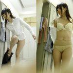 【OL着替え盗撮エロ画像】会社の更衣室にカメラを設置した結果…働く美人お姉さんのスケベな姿を覗けた!