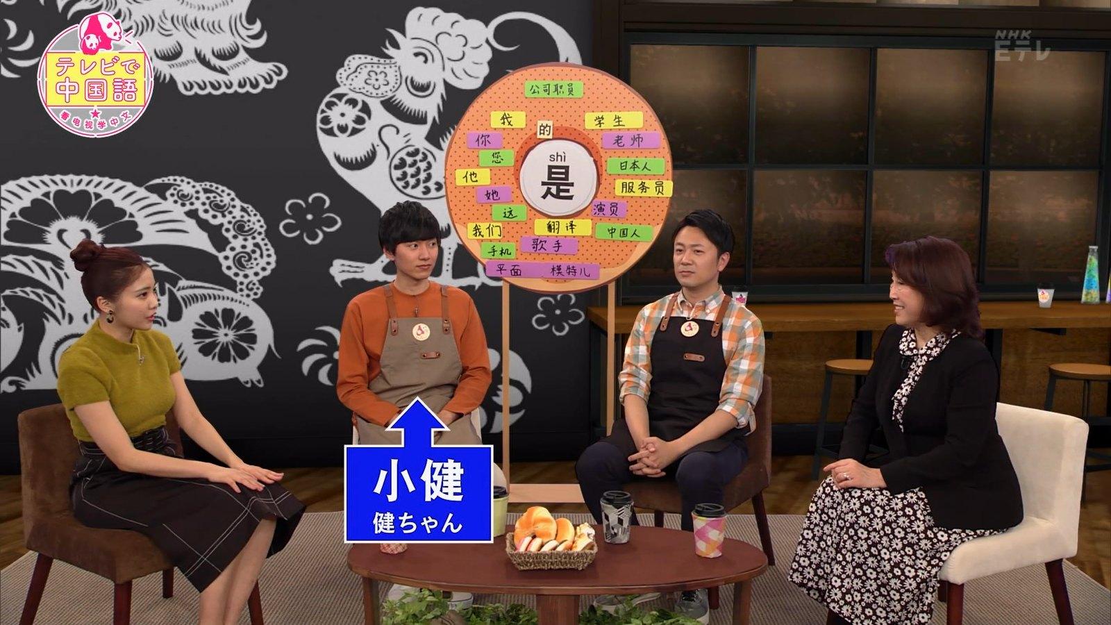 佐野ひなこ_着衣巨乳_テレビで中国語_12