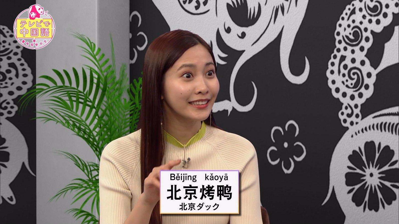 佐野ひなこ_ニット_おっぱい_テレビで中国語_12