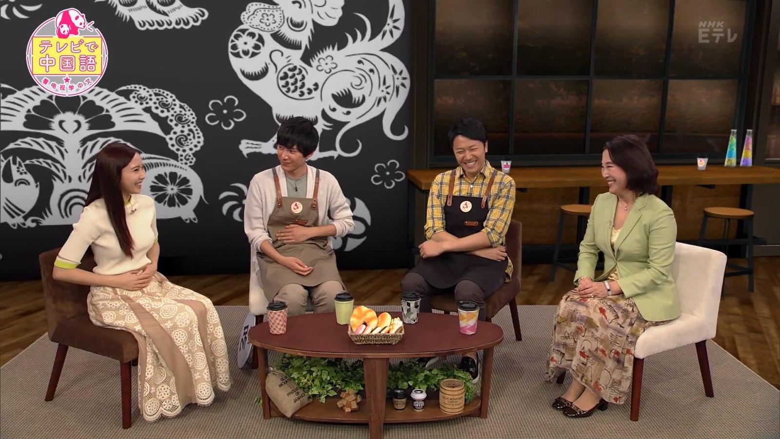 佐野ひなこ_ニット_おっぱい_テレビで中国語_13